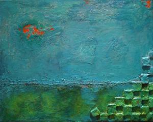 Ocean Dreams - Medium: Mixed Media, Size: 16x20, Availability: Available