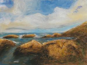 Sea My Thoughts - Medium: Acrylic, Size: 12x16, Availability: Available