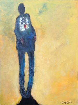 Spirit Man - Medium: Acrylic, Size: 9x12, Availability: Available