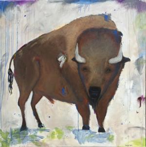 Sweet Spirit - Medium: Acrylic, Size: 48x48, Availability: Available