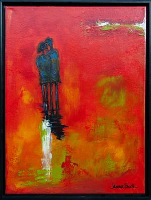 Twilight Years (Framed) - Medium: Acrylic, Size: 16x20, Availability: Sold