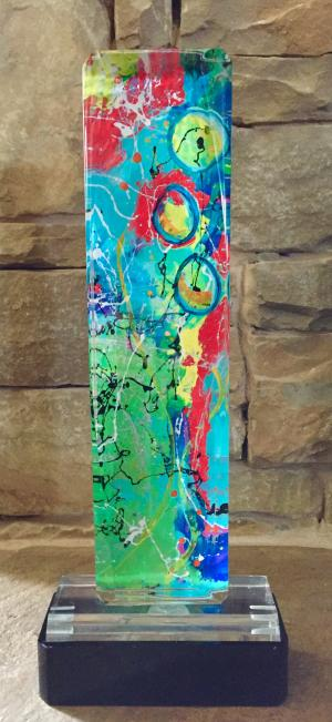 Bubbles - Medium: Sculptures, Size: 19 x 7 x 4, Availability: Available