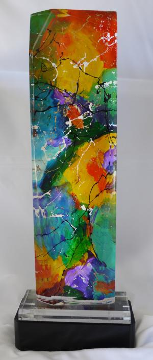 Color Wheel - Medium: Sculptures, Size: 21x9, Availability: Available