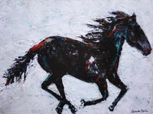Wind Dancer - Medium: Acrylic, Size: 18x24, Availability: Available